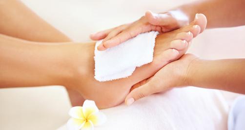 foot treatment 1 - SpaLight: DIY