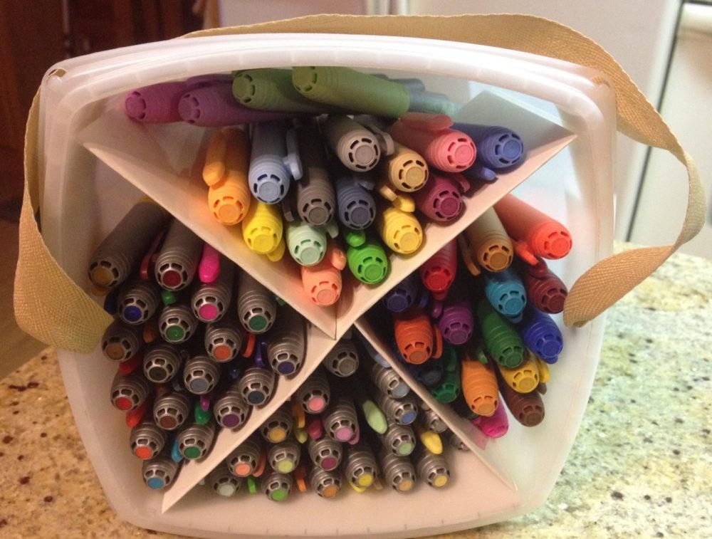 bins 1 - 10 Ways to Coordinate Your Stuff