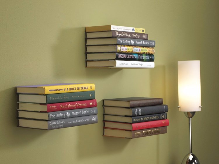 diy-floating-bookshelf