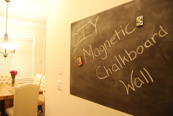 diy-magnetic-chalkboard-wall