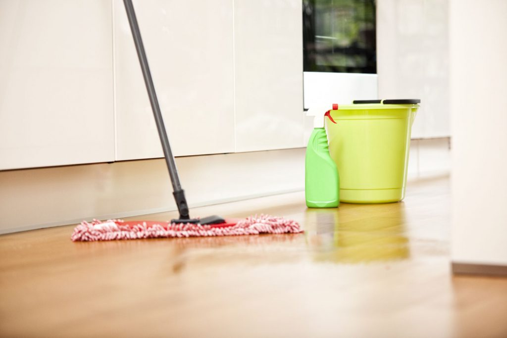 A-mop-in-action-cleaning-up-house-mess
