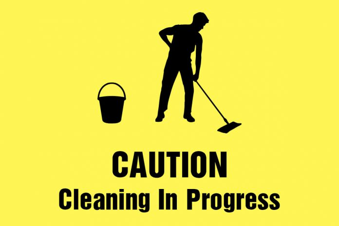 caution-sign-cleaning-in-progress