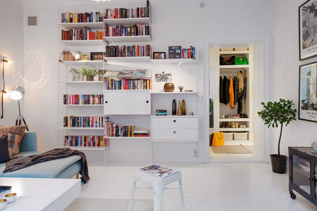 A-bookcase-looks-great-when-it-hosts-more-than-books