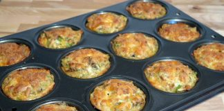 Cooking-casserole-in-muffin-tins-kitchen-hacks-protip