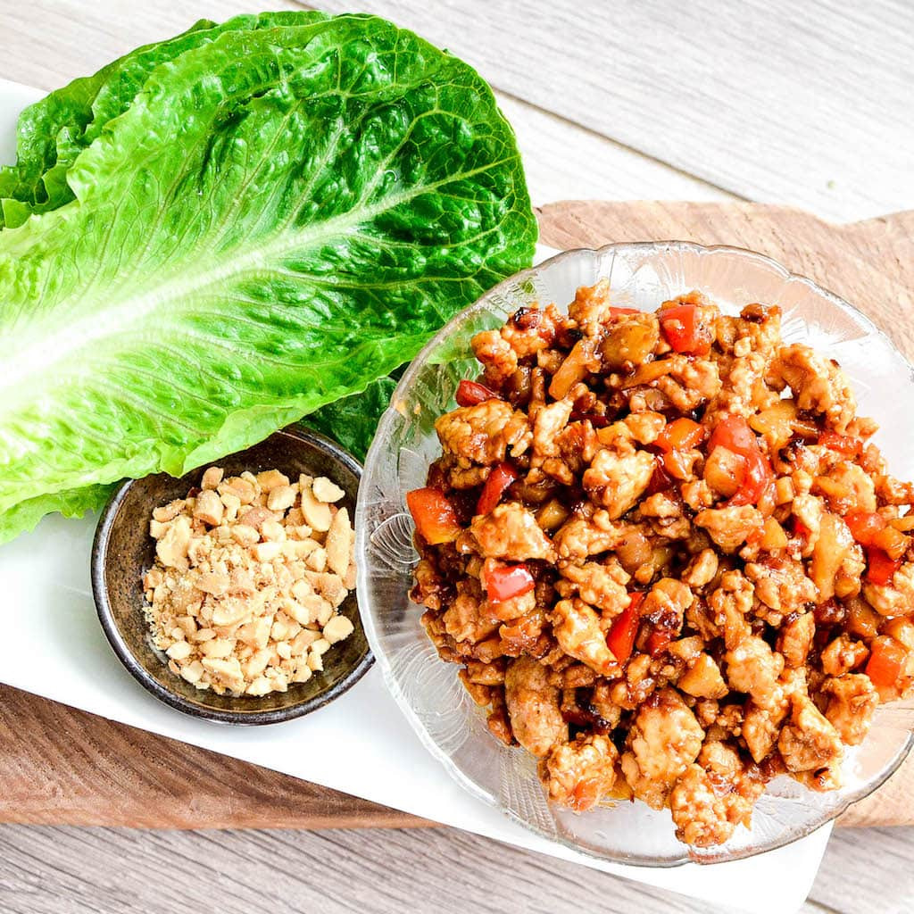 asian-chicken-lettuce-wraps
