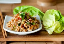 chicken-asian-lettuce-wrap-preparation