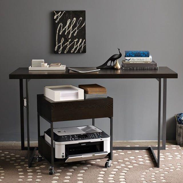 rolling-printer-cart-printing-station