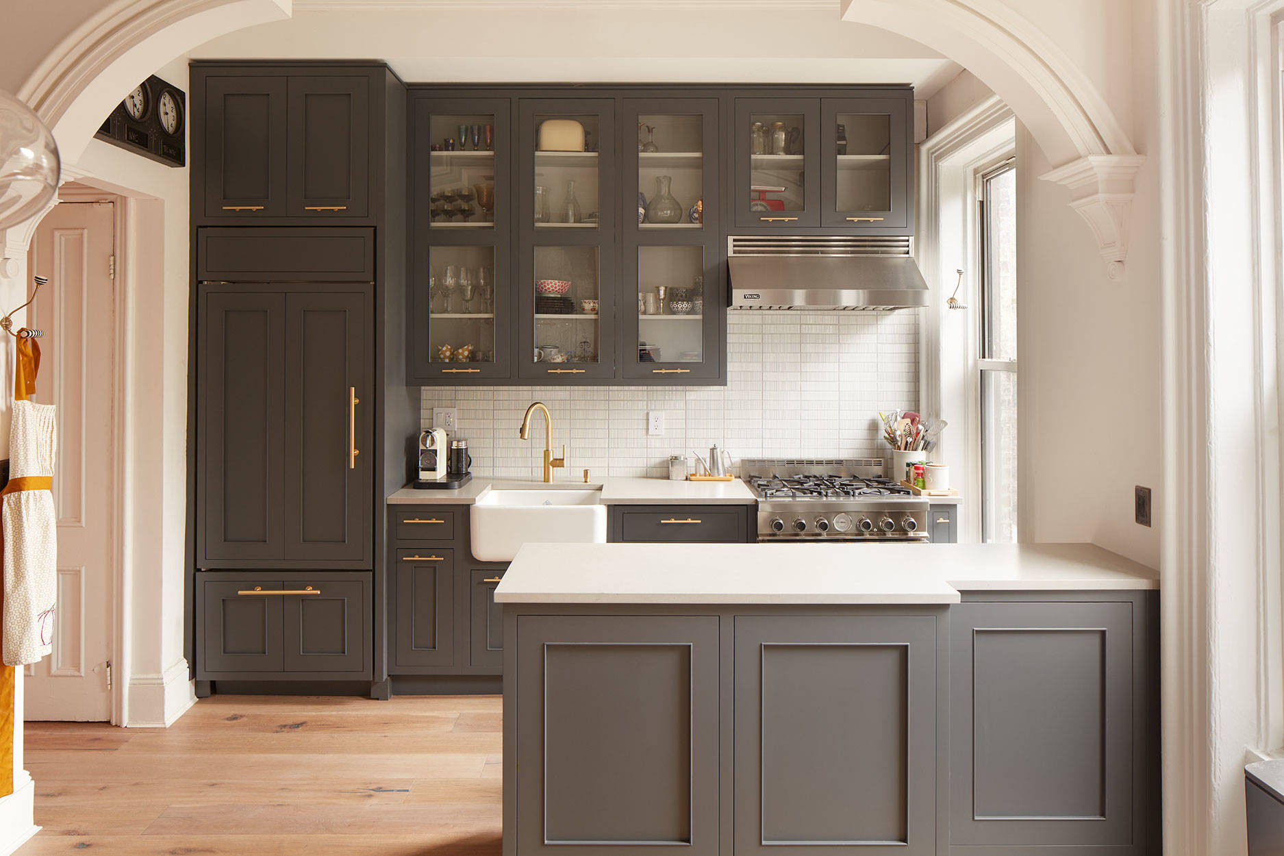 Black Wall Cabinets With Glass Faces Rocking Mama S Blog