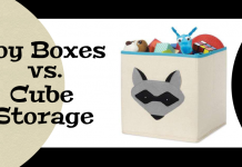 Toy Boxes vs. Cube Storage: Which is better for your kids?