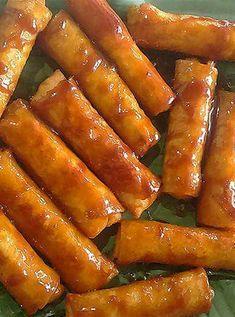 bananaturon2 - How to make banana lumpia (turon) recipe, with how to wrap lumpia